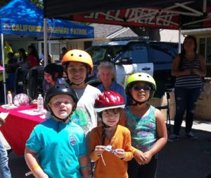 Kids at the Park 2015- Helmet Fitting Booth (COG Sponsored)