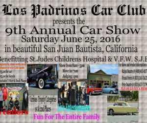 Flier announcing Los Padrinos' 9th Annual Car Show. Courtesy of Ralph Duarte.