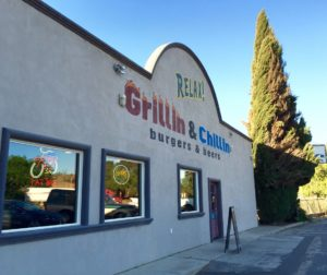 Relax! Grillin & Chillin Roadhouse is located at the junction of Highway 156 and Union Road in Hollister, California