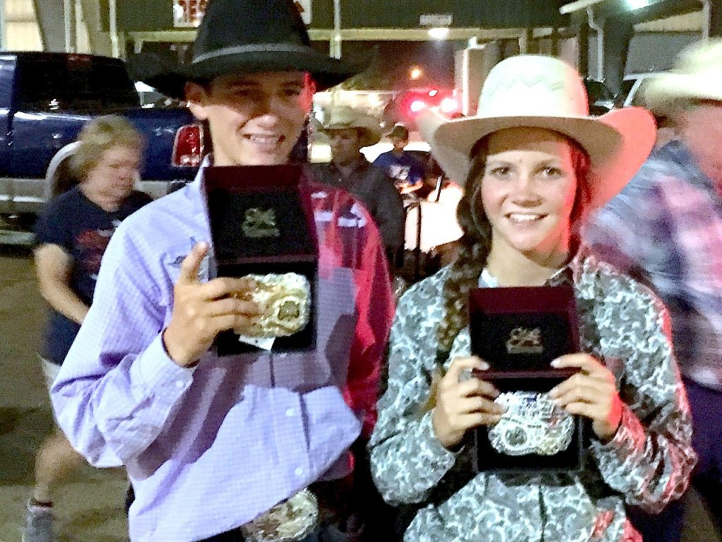 Lilla has been competing in rodeo for four years now, and saw her work come to fruition in the National Junior High Rodeo Finals.