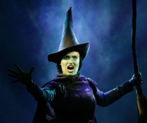 Wicked's Idina Menzel as the character Elphaba