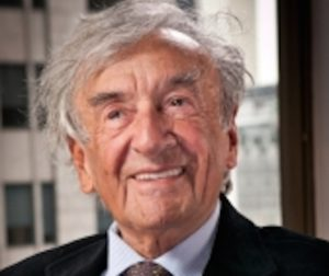 The late Holocaust survivor and author, Elie Wiesel. Photo courtesy of the United States Holocaust Memorial Museum