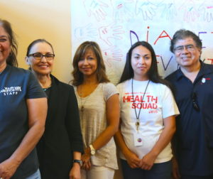 Pictured here from left to right: Dolores Villalon, Norma Molina, Diane Ortiz, Rosio Valdez, and Jesse De La Cruz.