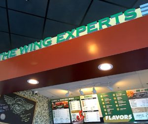 The new Wingstop location opened in early July, and has been seeing a lot of business from the community.