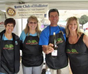 Volunteers help make the festival a success