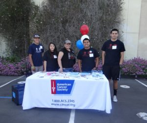 Booths like the American Cancer Society will be available for answering questions. (2013 photo)