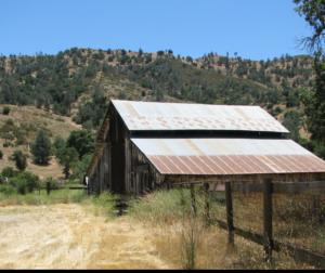 Bacon Historic Barn at Pinnacles National Park