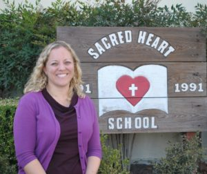 Dr. Rachel McKenna, Principal at Sacred Heart Parish School