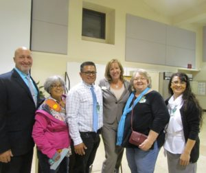 Hollister meet and greet and school board members