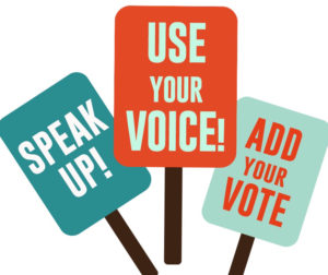 Use Your Voice Forums will be on the evening of Oct 6 and Oct 13