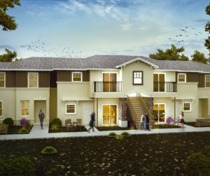 41 new apartments are being built on Buena Vista Road.