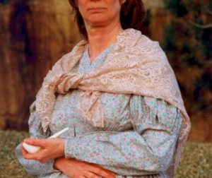 Dr. Doris Dwyer as Margaret Breen. Photo courtesy of Nevada Humanities.