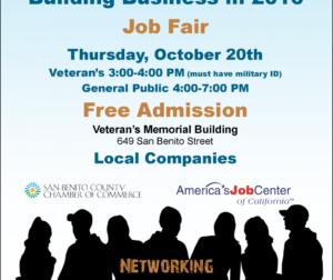 San Benito County Job Fair 2016