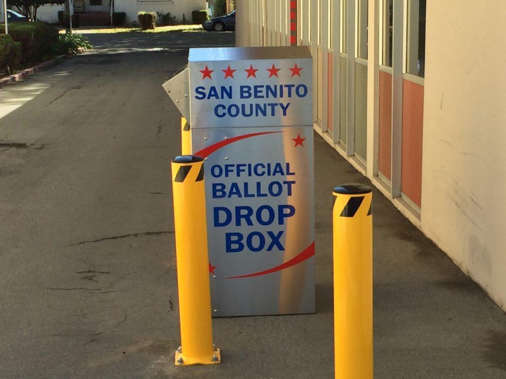 Official Ballot Drop Box. File photo.