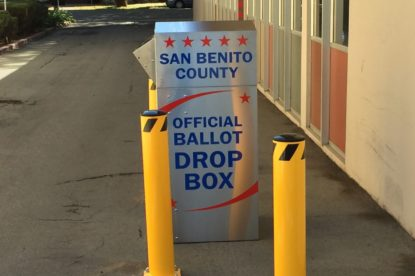 Official Ballot Drop Box. File photo.