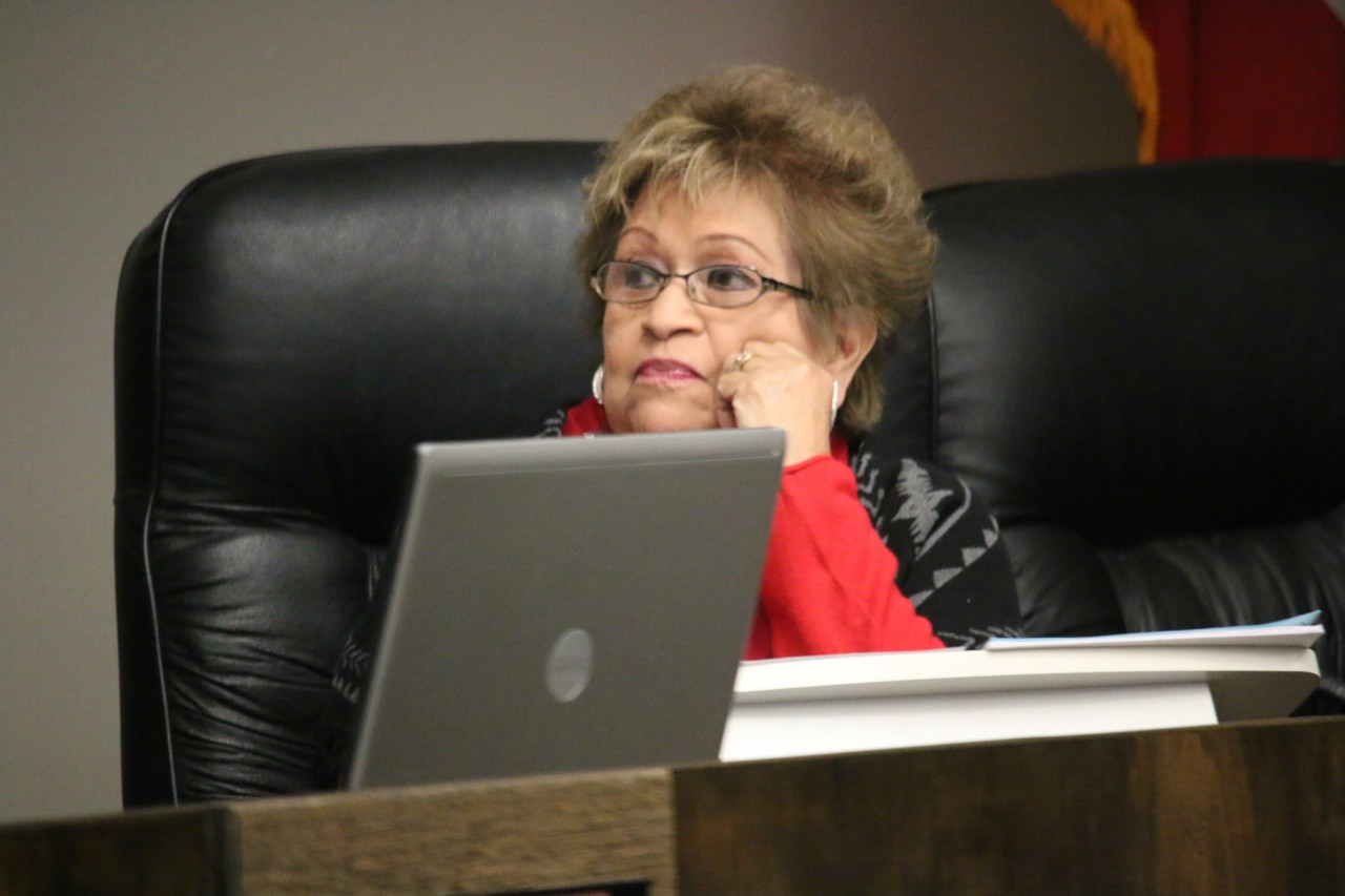 Councilwoman Mickie Luna was upset by comments about crime on the West Side.