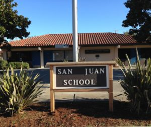 San Juan School. Photo courtesy of Sara Frieberg.