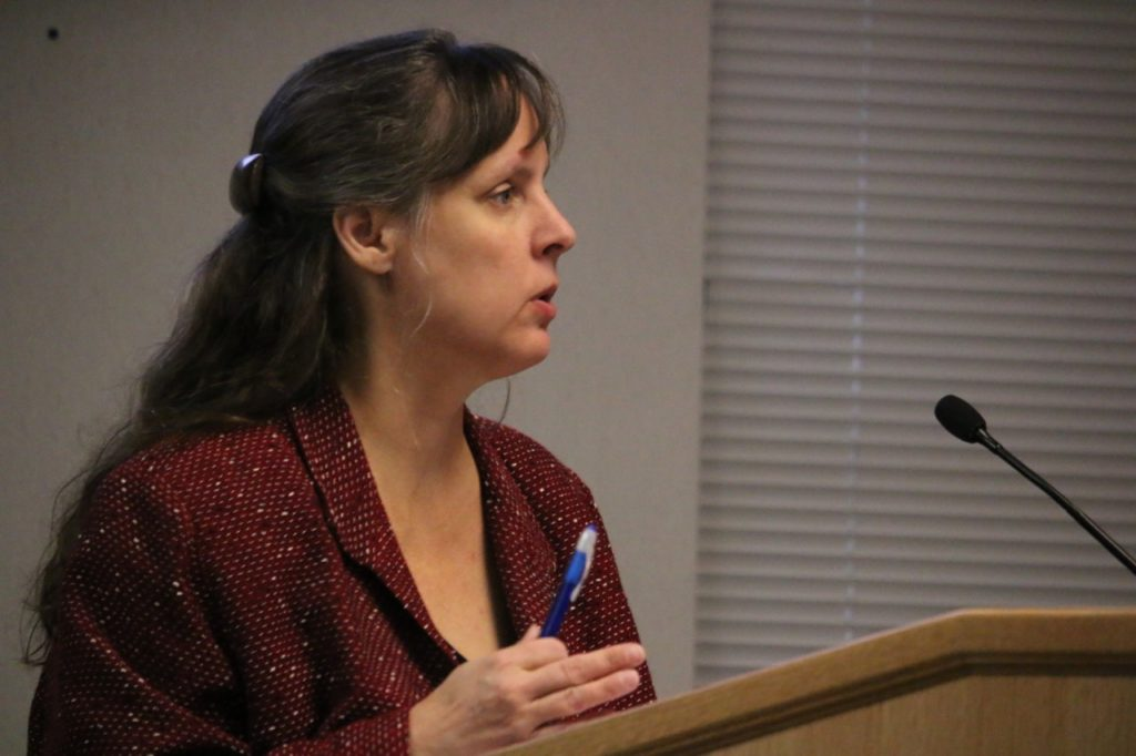 Interim county attorney Barbara Thompson said the annual grand jury report has been sent to the printer. Photos by John Chadwell.