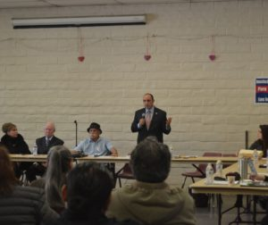 Congressman Jimmy Panetta at the Immigration Forum.