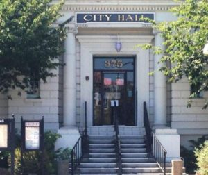 Hollister City Hall. File photo.