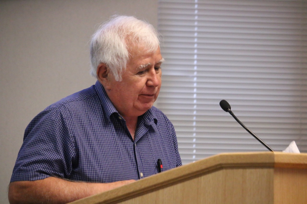 Hollister resident Aurelio Zuniga expressed concerns that his letter to the county grand jury was not delivered.
