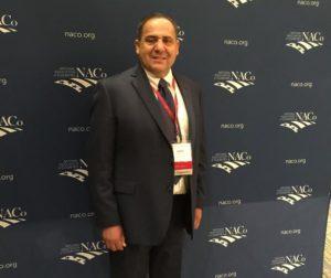 Supervisor De La Cruz visits Washington DC.