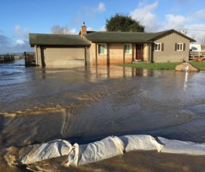As many as 46 homes were flooded with water.