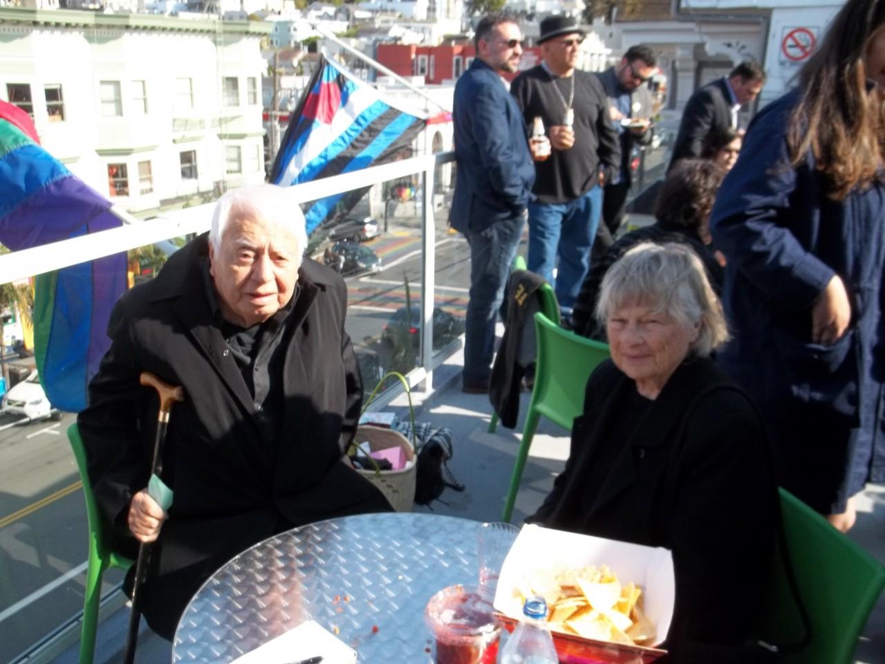 Hollister resident Tony Ruiz and his wife Kathy. Photo by Frank Perez.