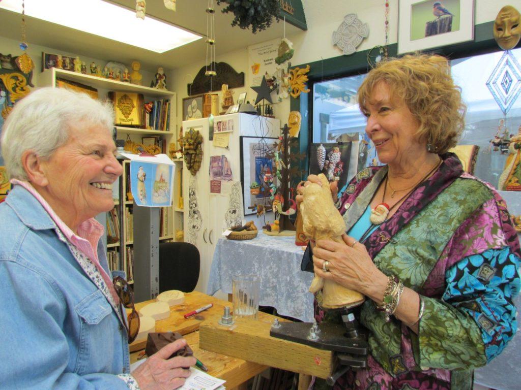 Barbara Scoles (right) with Sue Clark.jpg