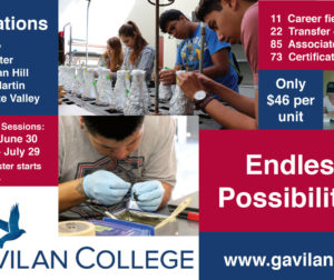 Gavilan College has five locations, and is offering two summer session