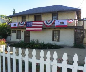 The Adobe Home today at 203 Fourth Street in San Juan Bautista.