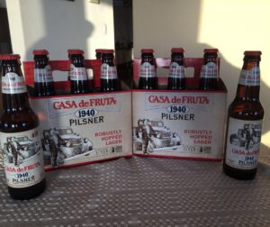 The new Casa de Fruta 1940 Pilsner.