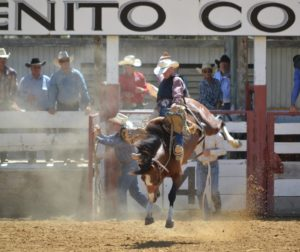 California's Pro Rodeo athletes will perform at the San Benito County Horse Show and Rodeo. John Chadwell Photo