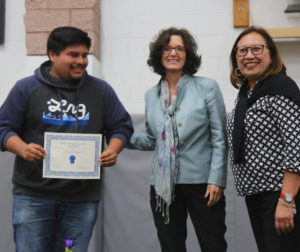 Cristian Gets Award.jpg