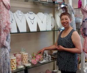 Kathina Szeto is the owner of San Benito Bene in downtown Hollister.