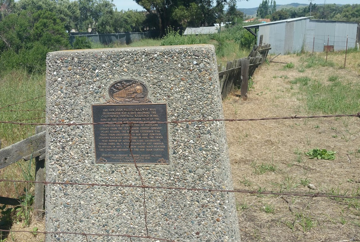 San juan Pacific Railway marker.jpg
