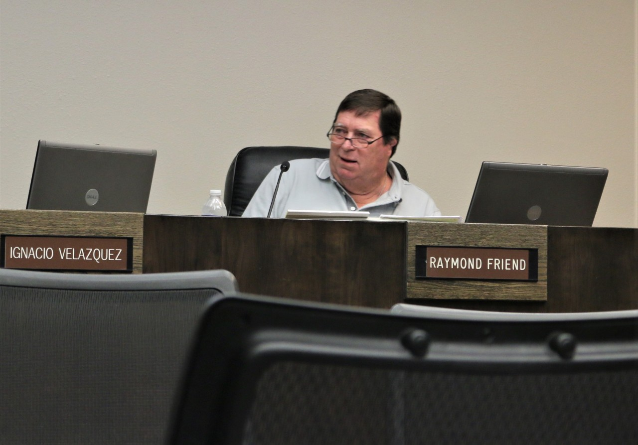 Councilman Raymond Friend appeared stunned by the mayor's comments and said Velazquez