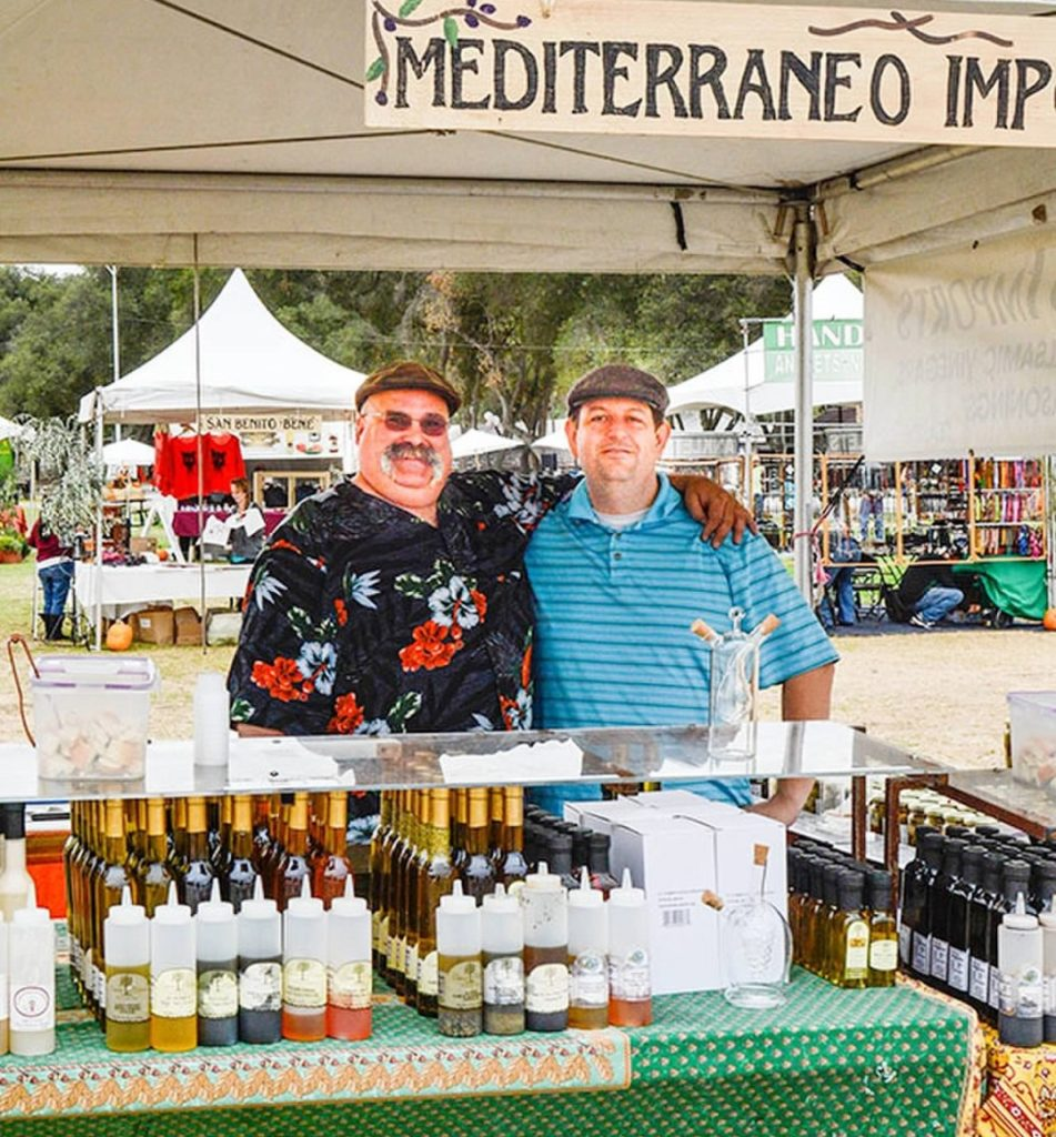 Olive oils from award-winning producers will be available for tasting.