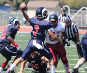 Gavilan College Football team Sept 9.   Photo Courtesy Gavilan College