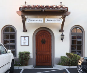 The Community Foundation for San Benito County's building is in downtown Hollister. LDavid photo