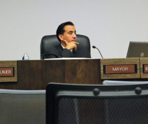 Mayor Ignacio Velazquez recused himself as other council members decided fate of petition.