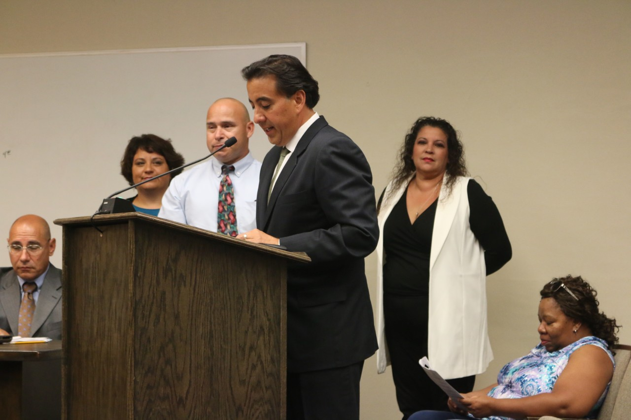 Mayor Velazquez recognizes Sun Street Centers for 49 years of helping communities.