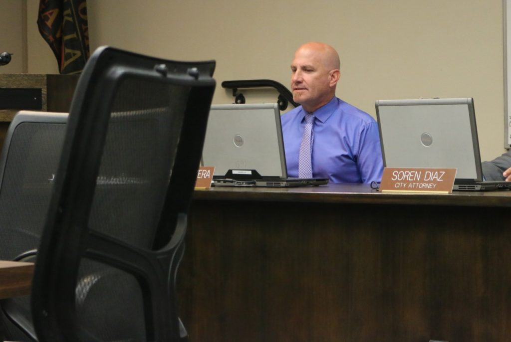 Bill Avera, city manager, said while he thought the 400 Block project was good. It was bad that the city's population was being torn apart over the debate.