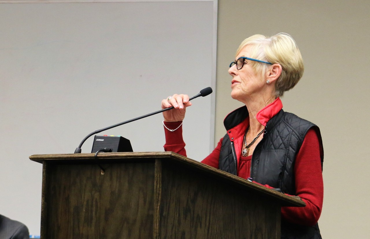 Kay Felice contends false information was put out along with petition against development.