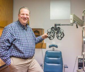 Optometrist of the Year, Robert Theaker  (Lisa Robinson photo)