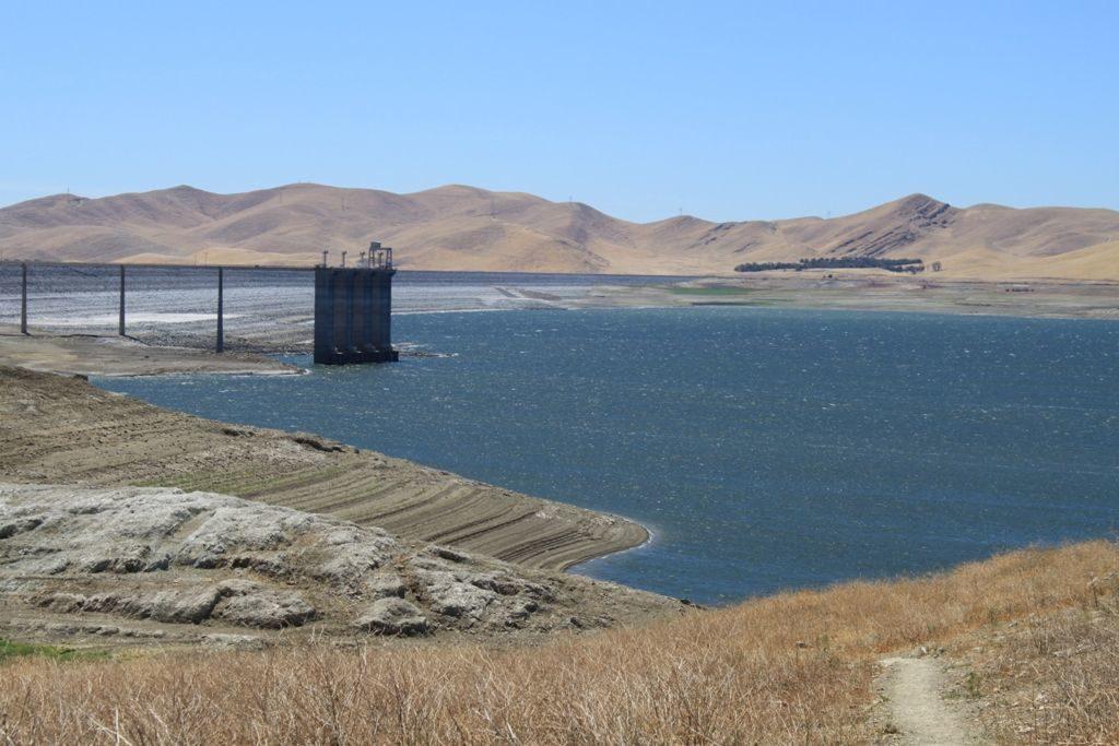 San Luis Reservoir in 2015