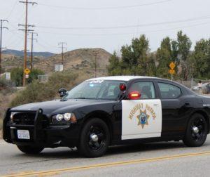California Highway Patrol Vehicle