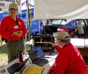 San Benito County Amateur Radio Association members Tim Takeuchi and Dave Fears (BenitoLink file photo)