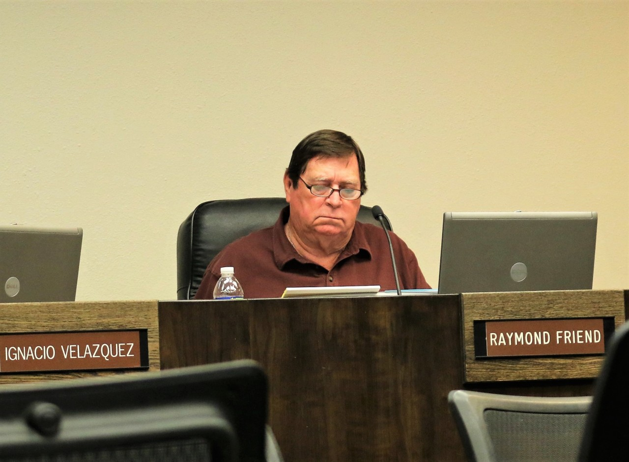 Councilman Raymond Friend said the mayor, without using his name directly, should be investigated.