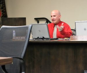 Bill Avera said the city employee will need to be familiar with cannabis law, city ordinances and working with council. Photos by John Chadwell.